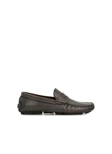 George Hogg 7005248 Erkek Loafer Gri